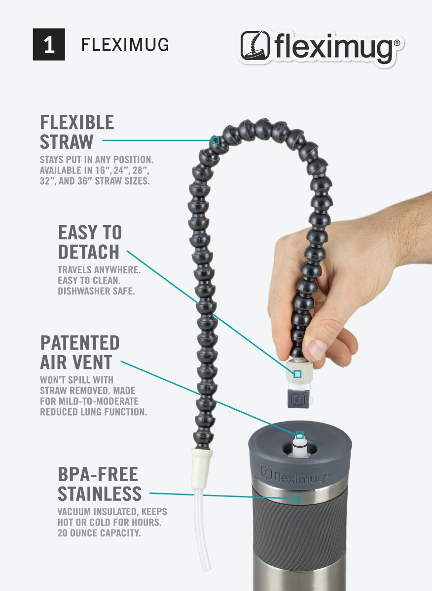 """16"""" Replacement Straw for Fleximug"""