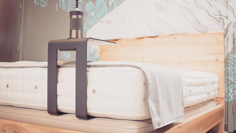 Fleximug and Flexistand make it easy to stay hydrated in bed.